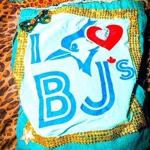 Handmade Blue Jay's Bag